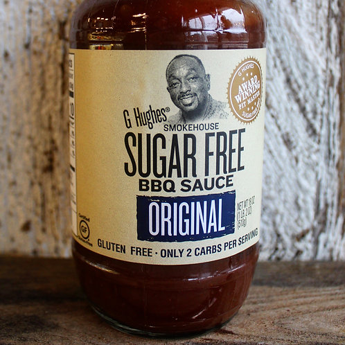 Original Barbecue Sauce, G. Hugh's, 18 oz.