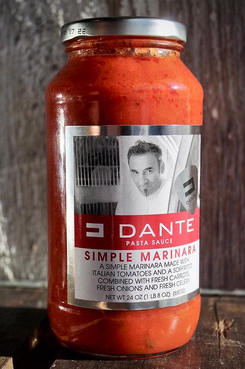 Simple Marinara, Dante's, 24 oz.