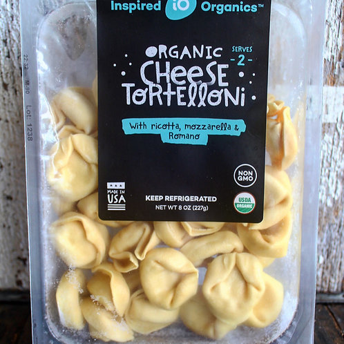 Cheese Tortelloni, Inspired Organics, 8oz