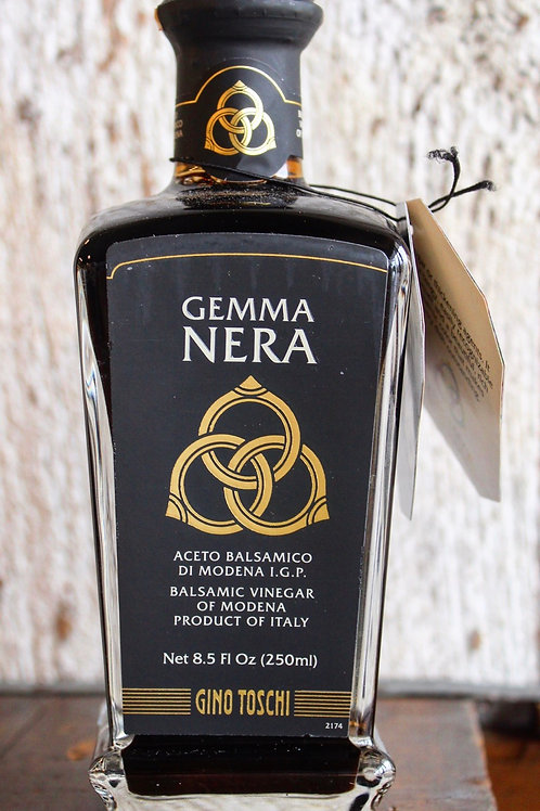 Balsamic Vinegar, Gemma Nera, 8.5 fl. oz.