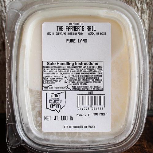Pure Lard, Brunty Farms, 1 lb.