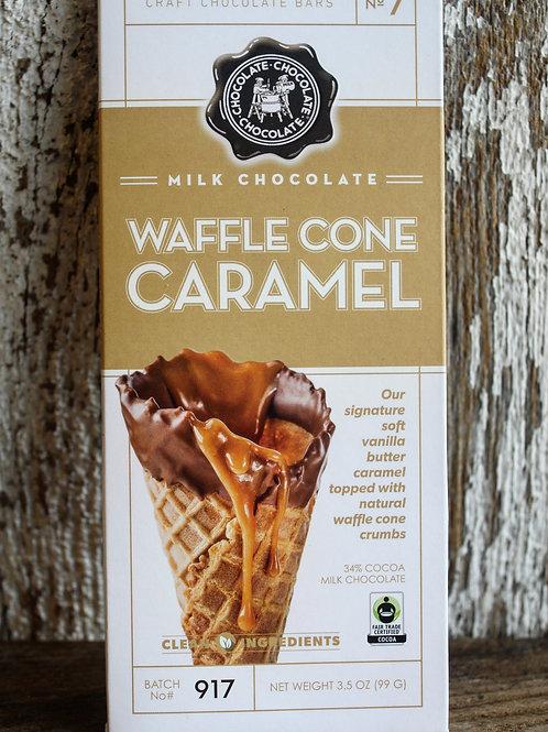 Waffle Cone Caramel Bar, 3.5oz