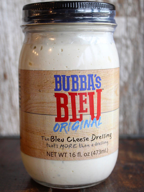 Bubba's Blue Cheese Dressing, 16 fl. oz.
