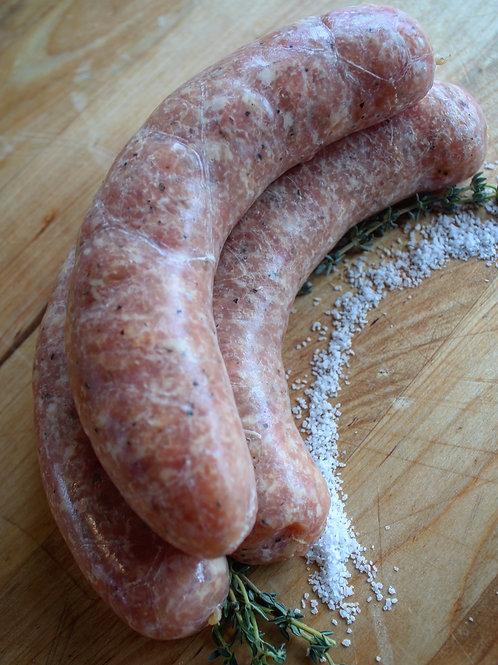 Salt & Pepper Chicken Bratwurst, 4/pk