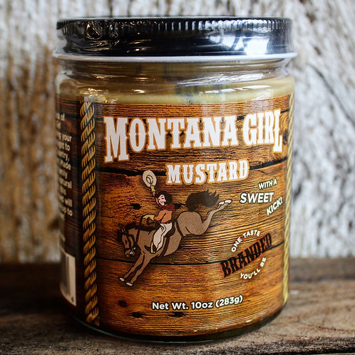 Cream Mustard, Montana Girl, 10 oz.