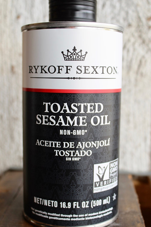 Toasted Sesame Oil, Rykoff Sexton, 16.9 fl. oz.