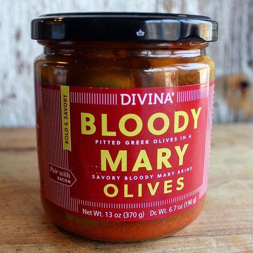 Bloody Mary Olives, Divina, 13 oz. Jar