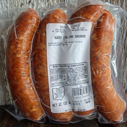 Sweet Italian Pork Sausage Links, 4/pk