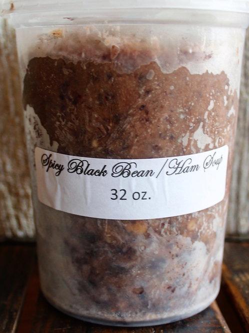 Spicy Black Bean & Ham Soup, Tao of Dough, 32 fl. oz.
