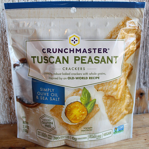 Tuscan Peasant Crackers, Crunchmaster, 4oz.