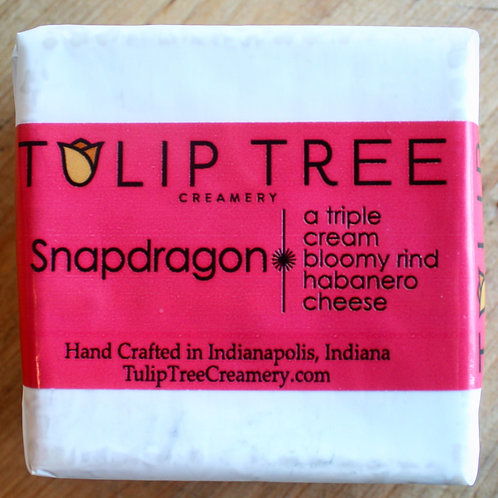 Snapdragon Habanero Triple Cream, Tulip Tree Creamery