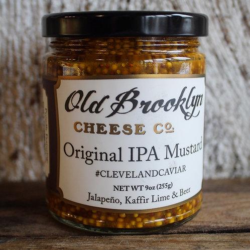 IPA Mustard, Old Brooklyn Cheese Co., 9 oz.