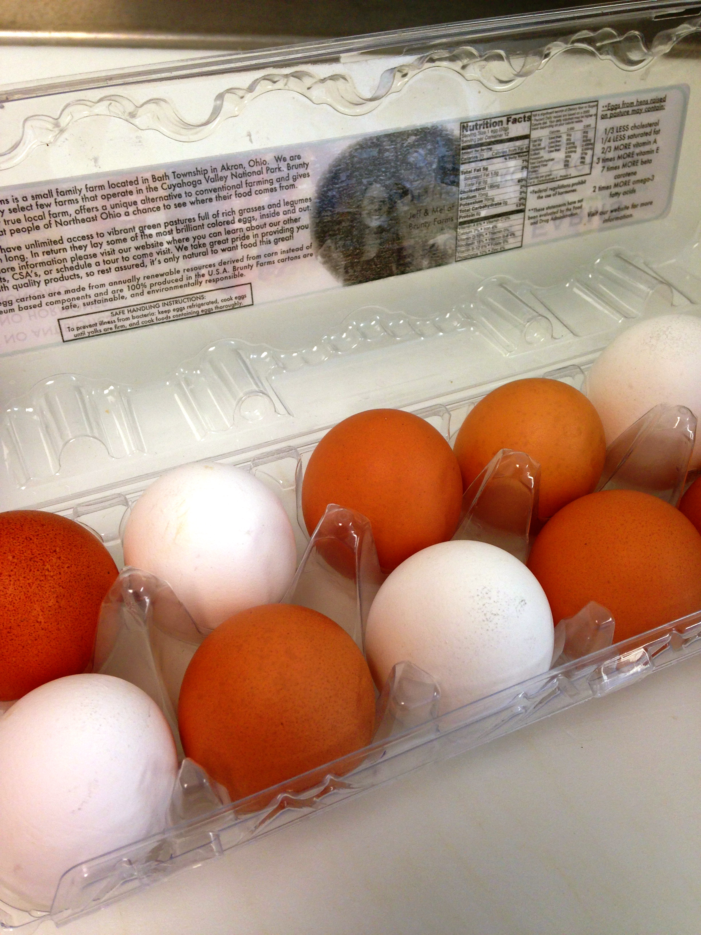 Pasture Raised Eggs in Carton