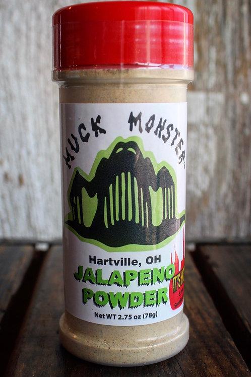 Jalapeño Powder, Muck Monster, 2.75 oz.