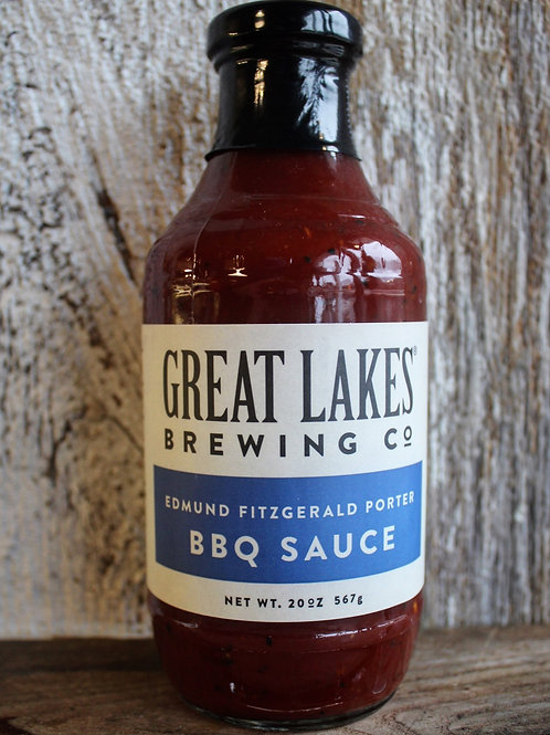 Great Lakes Brewing Co. BBQ Sauce, 20oz