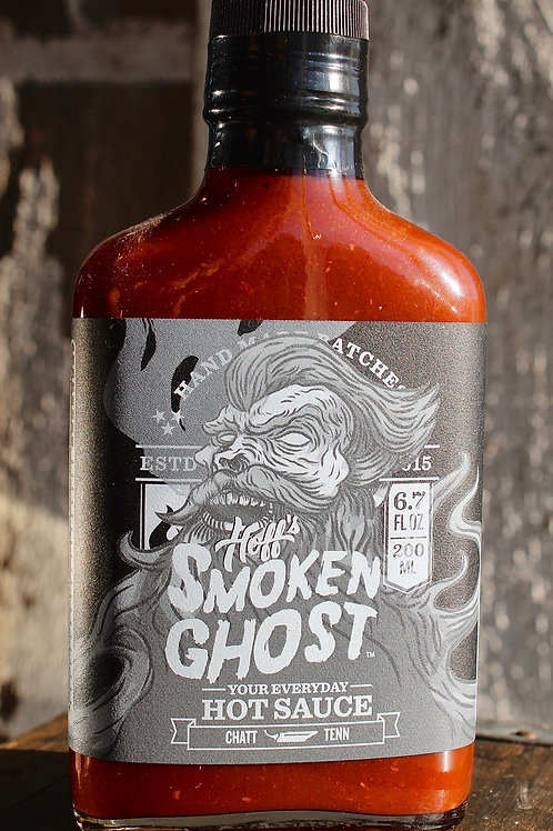Hot Sauce, The Smoken' Ghost, Hoff's, 6.7 fl. oz.