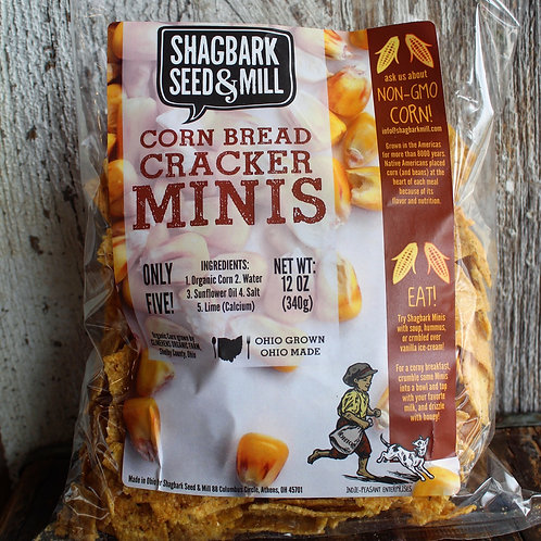 Shagbark Seed & Mill Chips, 12oz