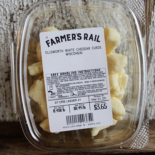 Ellsworth White Cheddar Cheese Curds, 8-10oz