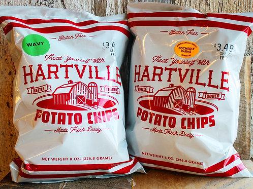 Hartville Kettle Cooke Potato Chips, 8oz