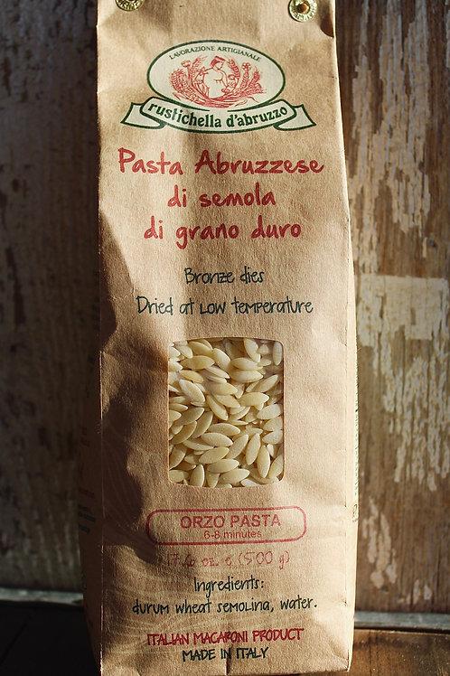Orzo Pasta, Rustichella, 17.6oz