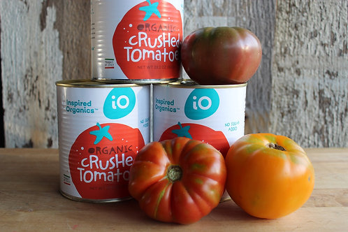 Crushed Tomatoes, Inspired Organics, 28.2oz