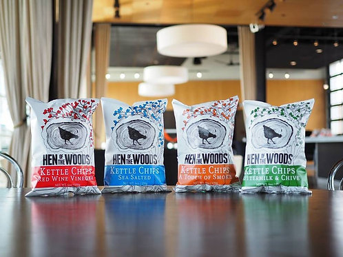 Hen of the Woods Kettle Chips, 6oz
