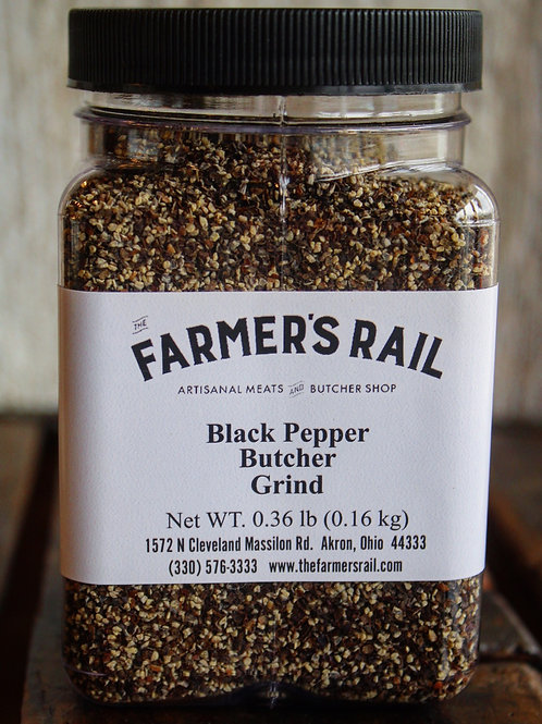 Black Pepper, Butcher Grind, TFR, .16 lb