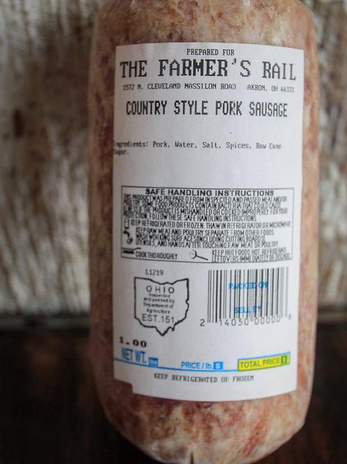 Country Style Pork Sausage Bulk, 1#