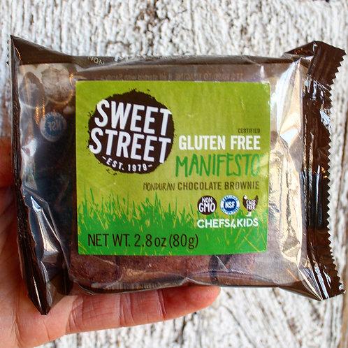Chocolate Brownie, Gluten Free, Sweet Street Manifesto, 2.8 oz.
