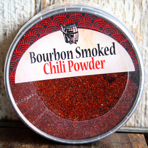 Chili Powder, Bourbon Smoked, Bourbon Barrel, 2 oz.
