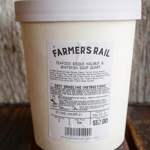 Soup Quart, Homemade, The Farmer's Rail