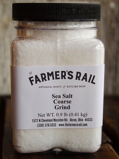 Sea Salt, Coarse Grind, TFR, .9 lb.