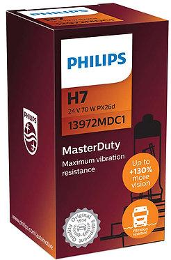 Автолампа Philips MD 13972 H7 24V 70W PK22s (PX26d)