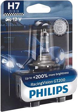 Автолампа Philips H7 12972RGTB1 RacingVision GT200 +200% 12V 55W (PX26d) B1