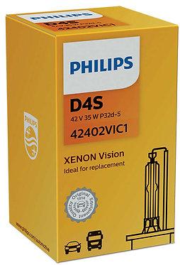 Автолампа Ксенон Philips D4S 42402 VI 42V 35W P32d-5 C1