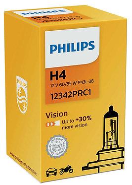 Автолампа Philips PR 12342 H4 12V 60/55W (P43t-38)