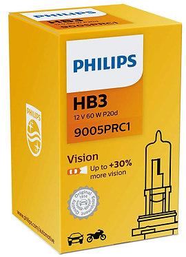 Автолампа вказівна Philips PR 9005 HB3 12V 65W (P20d)