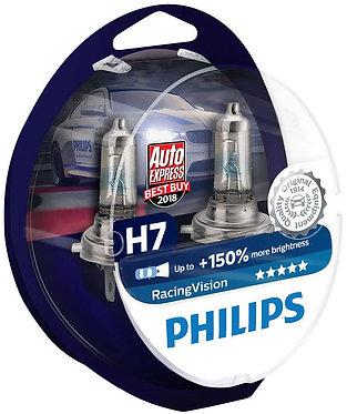 Автолампа Philips RVS2 12972 H7 Racing Vision 12V 55W (PX26d) (блістер)