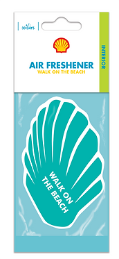 Ароматизатор повітря салону Shell Airfreshener Walk On The Beach