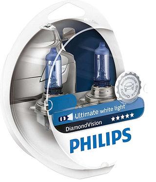 Автолампа Philips DVS2 12342 H4 Diamond Vision SP 12V 55W (P43t-38) (блістер)