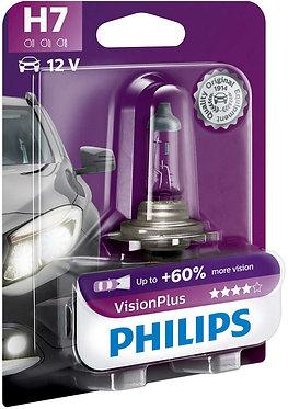 Автолампа Philips VP 12972-B H7 Vision Plus 12V 55W (PX26d) (блістер)