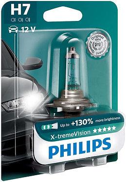 Автолампа Philips XVB1 12972 H7 X-treme Vision SP 12V 55W (PX26d) (блістер)