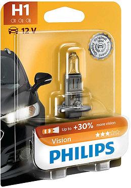 Автолампа Philips PR12258-B H1 12V 55W (P14,5s) (блістер)