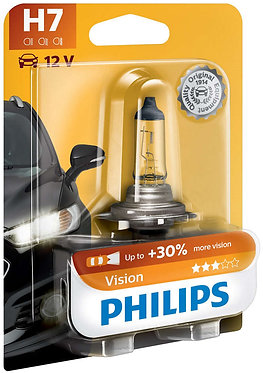 Автолампа Philips PR12972-B H7 12V 55W (PX26d) (блістер)