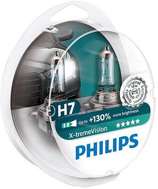 Автолампа Philips XVS2 12972 H7 X-treme Vision SP 12V 55W (PX26d) (блістер)