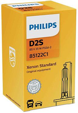 Автолампа Ксенон Philips D2S 85122 VI 85V 35W P32d-2 C1