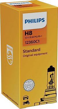 Автолампа вказівна Philips 12360 H8 СР 12V 35W (PGJ19-5)
