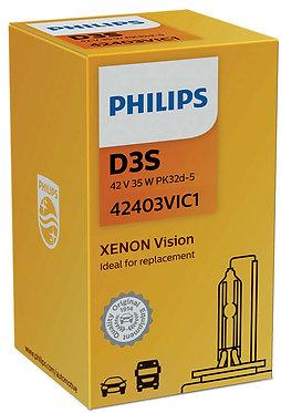 Автолампа Ксенон Philips D3S 42403 VI 42V 35W PK32d-5 C1