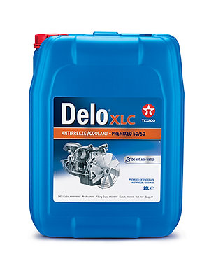 Texaco Delo XLC AFC 50/50 (готовий червоний)