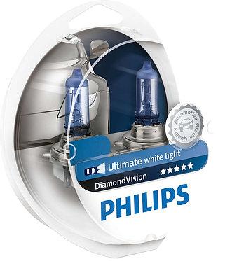 Автолампа Philips DVS2 12258 H1 Diamond Vision SP 12V 55W (P14,5s) (блістер)